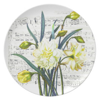Springtime Song Plate