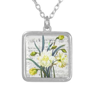Springtime Song Silver Plated Necklace