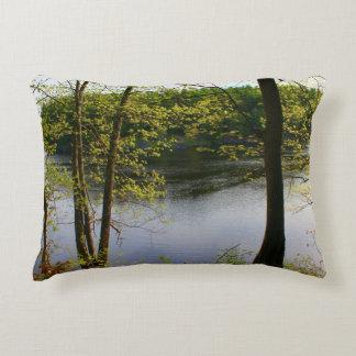 Springtime Stillwater River 2016 Accent Pillow