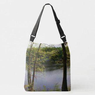 Springtime Stillwater River 2016 Crossbody Bag