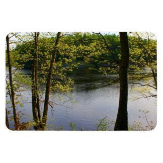Springtime Stillwater River 2016 Rectangular Photo Magnet