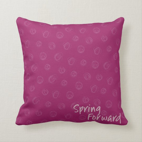 "Springtime, Throw Pillow 16"" x 16"""