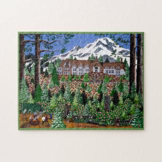 Springtime Timberline Puzzle