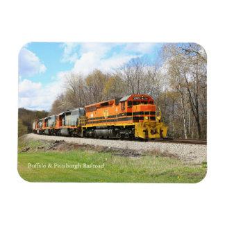 Springtime Train Magnet