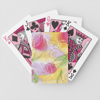 Springtime  Tulip Playing Cards