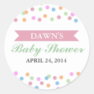 Sprinkle Baby Shower Sticker