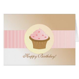 Sprinkle Cupcake Card