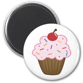 Sprinkle Cupcake Magnet