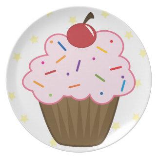Sprinkle Cupcake Plate