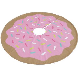 Sprinkle Donut Cute Christmas Tree Skirt