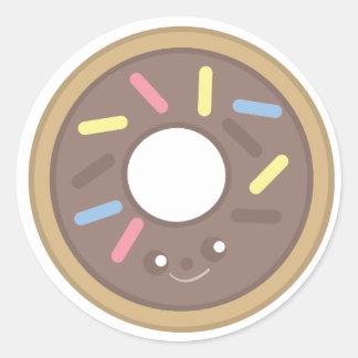 Sprinkle the Doughnut Round Sticker