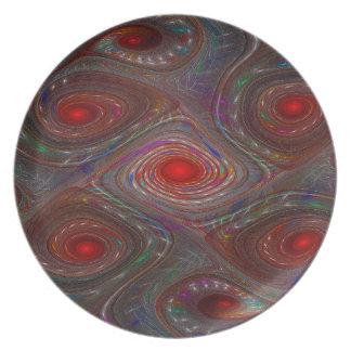 Sprinkled Gnarl Melamine Plate