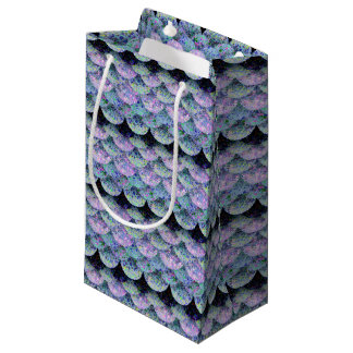 Sprinkled Paper  Mermaid Scales Small Gift Bag