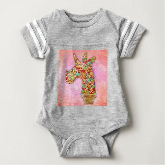Sprinkled Unicorn Ice Cream Baby Bodysuit