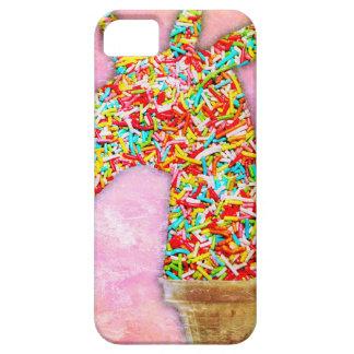 Sprinkled Unicorn Ice Cream iPhone 5 Cases