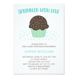 Sprinkled With Love Baby Sprinkle Card