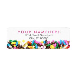 Sprinkles Address Labels