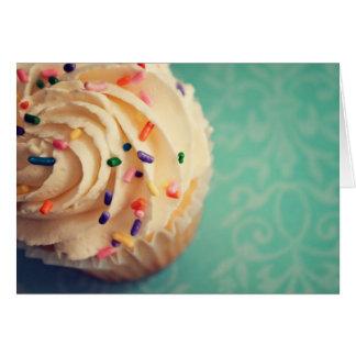 Sprinkles Cupcake Greeting Card