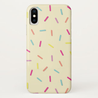 Sprinkles / Hundreds and Thousands pattern iPhone X Case