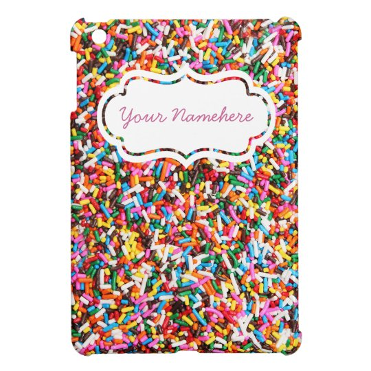Sprinkles Personalized iPad Mini Case