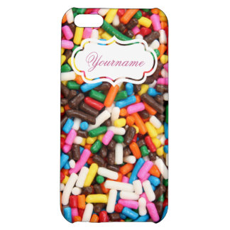 Sprinkles Personalized iPhone 5C Case
