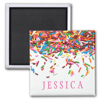 Sprinkles Personalized Magnet