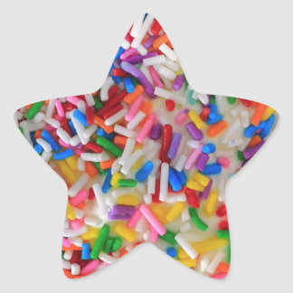 Sprinkles! Star Sticker