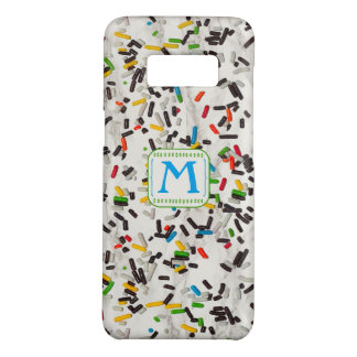 Sprinkles with Monogram Case-Mate Samsung Galaxy S8 Case