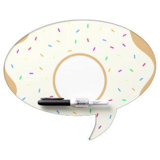 Sprinkly Donut Dry Erase Board