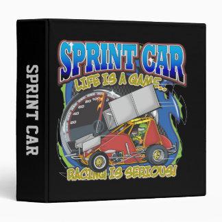 Sprint Car Life Vinyl Binder