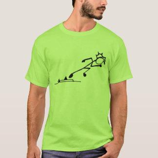 Sprinter Stickman Track and Field T-Shirt