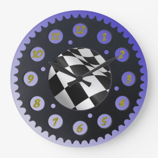 SPROCKET WALL CLOCKS. LARGE CLOCK