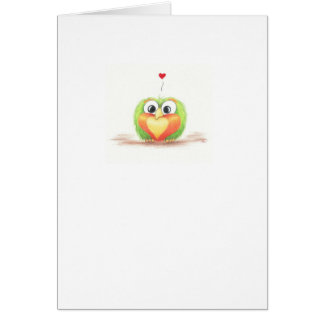 Sprout Love greeting card - Blank