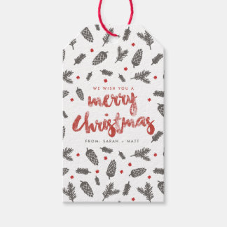 Spruce and Pine Christmas Pack Of Gift Tags