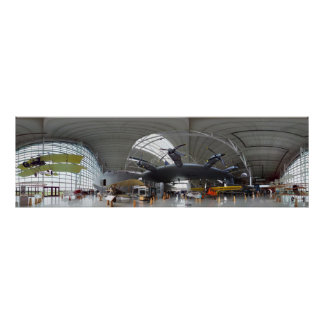 Spruce Goose 360 Panorama Poster