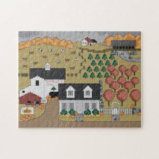 Spruce Hill Autumn Jigsaw Puzzle