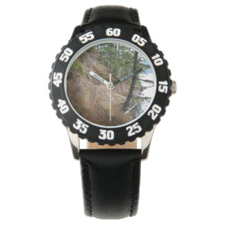 Spruce Railroad Trail Olympic National Park Wristwatch