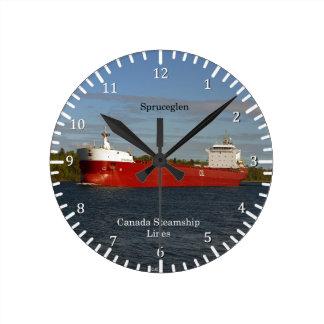Spruceglen clock