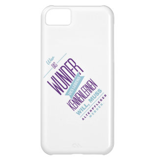 Spruch_Wunder_2c.png Case For iPhone 5C
