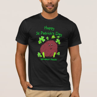 Spudman Paddy St Patrick's Day mens t-shirt