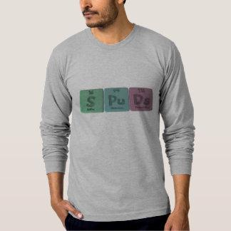 Spuds-S-Pu-Ds-Sulfur-Plutonium-Darmstadtium.png T-Shirt