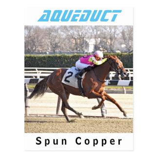 Spun Copper Postcard