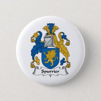 Spurrier Family Crest 2 Inch Round Button