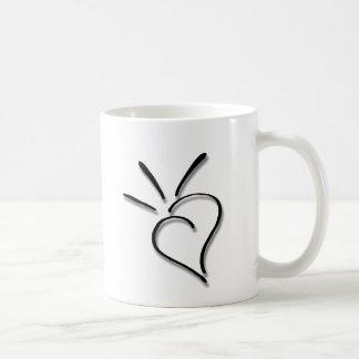 Spurting Sass Heart - Coffee Mug