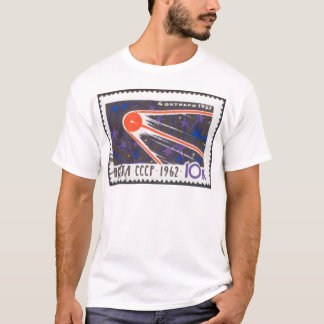 Sputnik 1 5th Anniversary 1962 T-Shirt