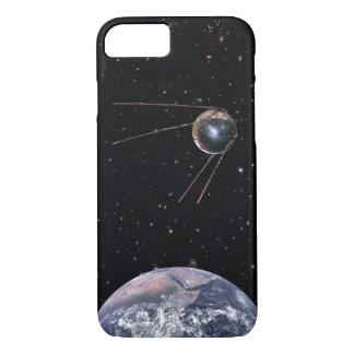 Sputnik 1 Earth Satellite iPhone 8/7 Case
