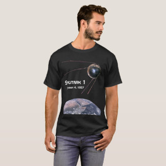 Sputnik 1 Earth Satellite T-Shirt