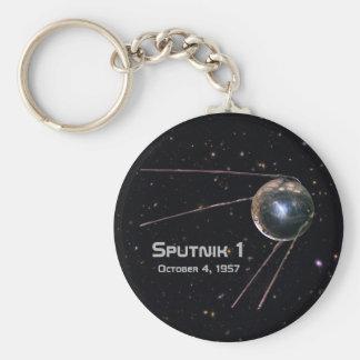 Sputnik 1 Satellite Keychain