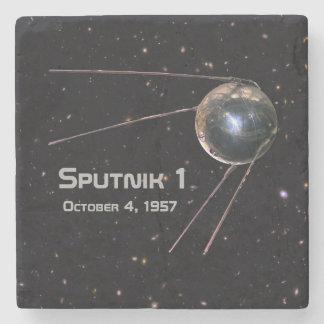 Sputnik 1 Satellite Stone Coaster