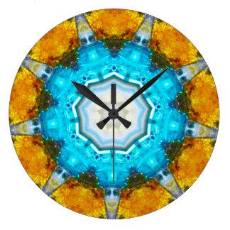 Sputnik Fractal Large Clock